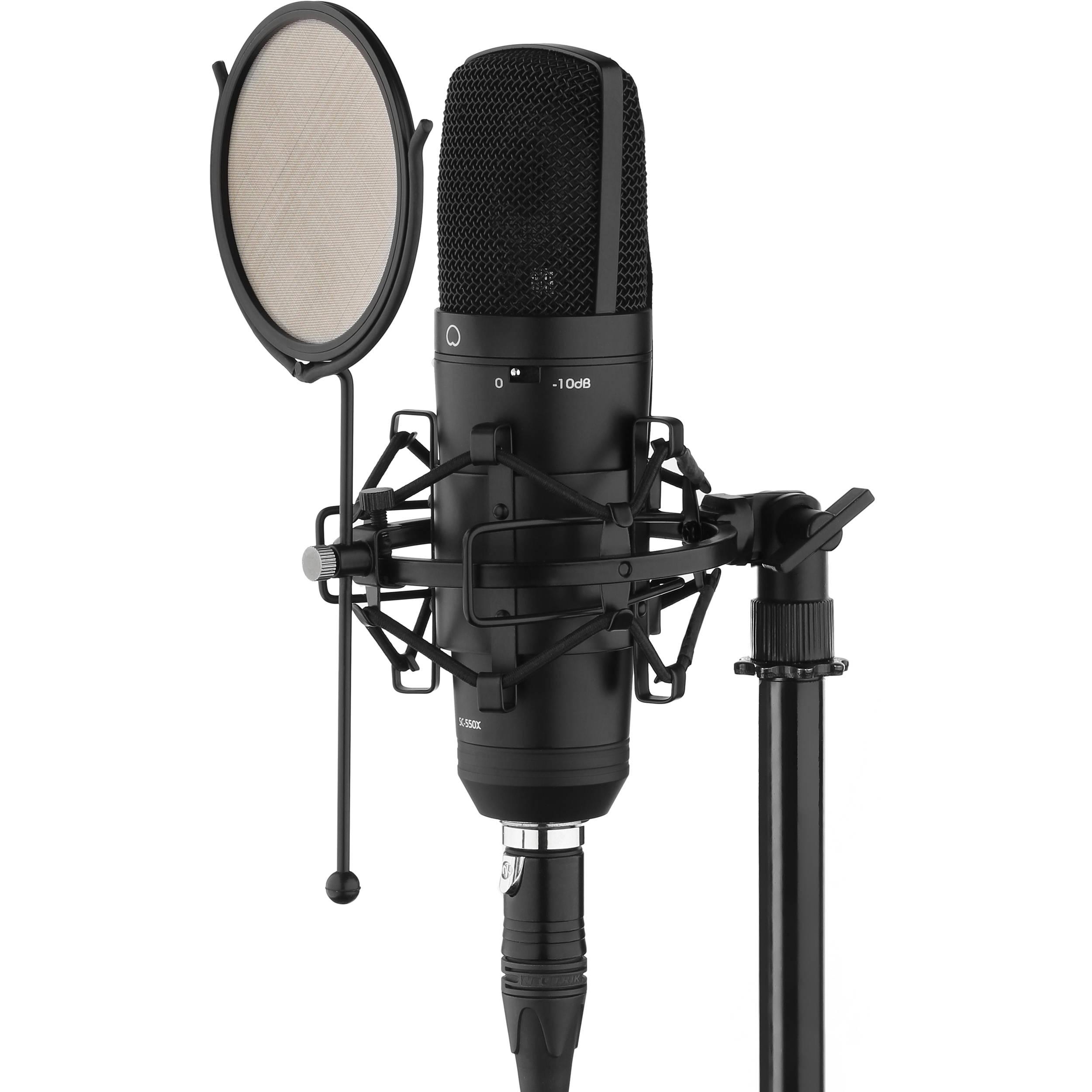 Senal SC-550X Professional Cardioid Condenser Microphone $69.99 @ B&H Photo w/ Free Shipping