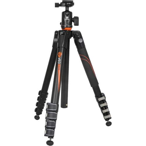 Vanguard VEO 265AB Aluminum Tripod w/ TBH-50 Ball Head $79.95 @ B&H Photo w/ Free Shipping