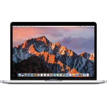 """Apple 13.3"""" i7 MacBook Pro w/ Touch Bar (Mid 2017, Silver or Space Gray) $1999 @ B&H Photo w/ Free Shipping"""