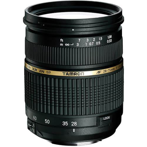 Tamron SP 28-75mm F/2.8 XR Di for Canon EF or Nikon F $369 @ B&H Photo w/ Free Shipping