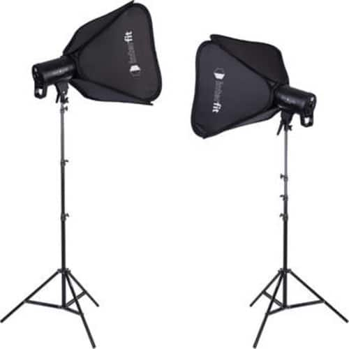 Studio Essentials 100W LED Monolight 2-Light Kit with Stands and Softboxes $249.95 @ B&H Photo w/ Free Shipping