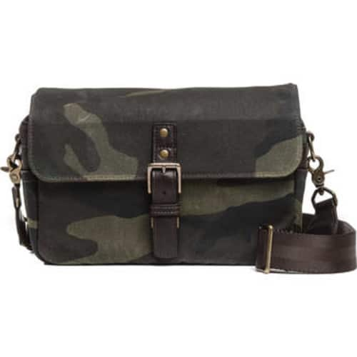 ONA Bowery Canvas Camera Bag (Camouflage or Crimson) $99 @ B&H Photo w/ Free Shipping