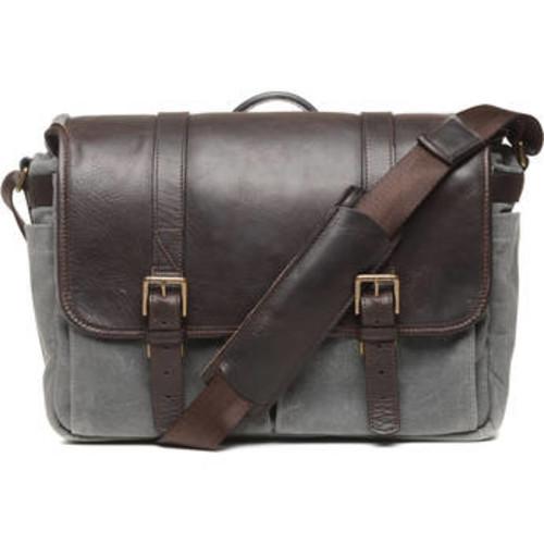 ONA 50/50 Brixton Camera/Laptop Messenger Bag (Leather/Canvas, Smoke/Dark Truffle) $179 @ B&H Photo w/ Free Shipping