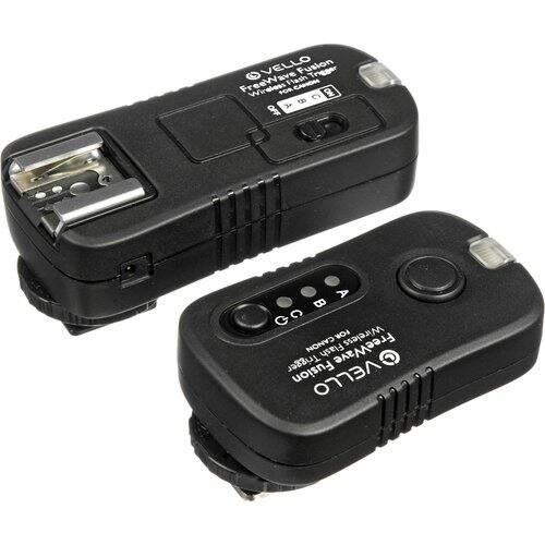 Vello FreeWave Fusion Wireless Flash Trigger & Remote Control for Canon or Nikon $39.95 @ B&H Photo w/ Free Shipping