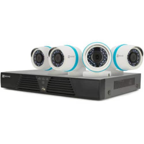 ezviz BN-1444A2 4-Channel 4MP NVR w/ 2TB HDD & 4 4MP Outdoor Network Bullet Cams Kit $129.99 @ B&H Photo w/ Free Shipping