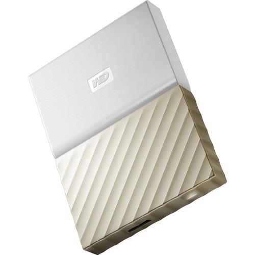 WD 1TB My Passport Ultra USB 3.0 External Hard Drive (White/Gold) $44.99 / 2TB $59.99 @ B&H Photo w/ Free Shipping