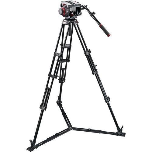 Manfrotto 509HD Video Head & 545GB Aluminum Tripod Pro Ground-Twin Kit 100 $1099 @ B&H Photo w/ Free Shipping