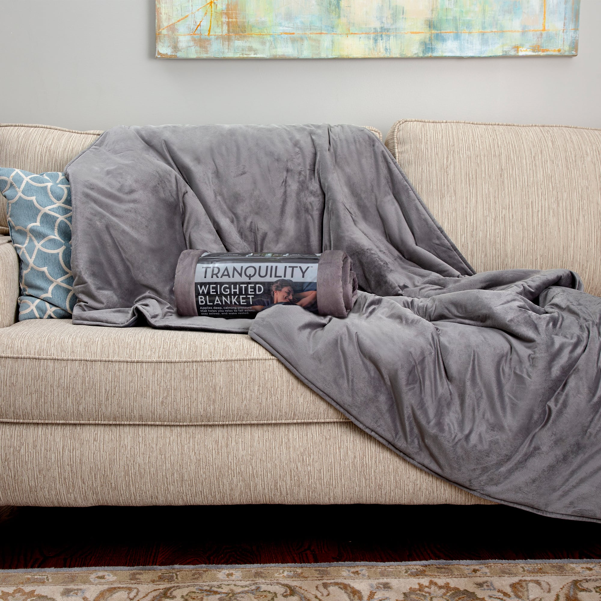 Tranquility Weighted Blanket, 12lb With Cover $20 @ Walmart.com YMMV