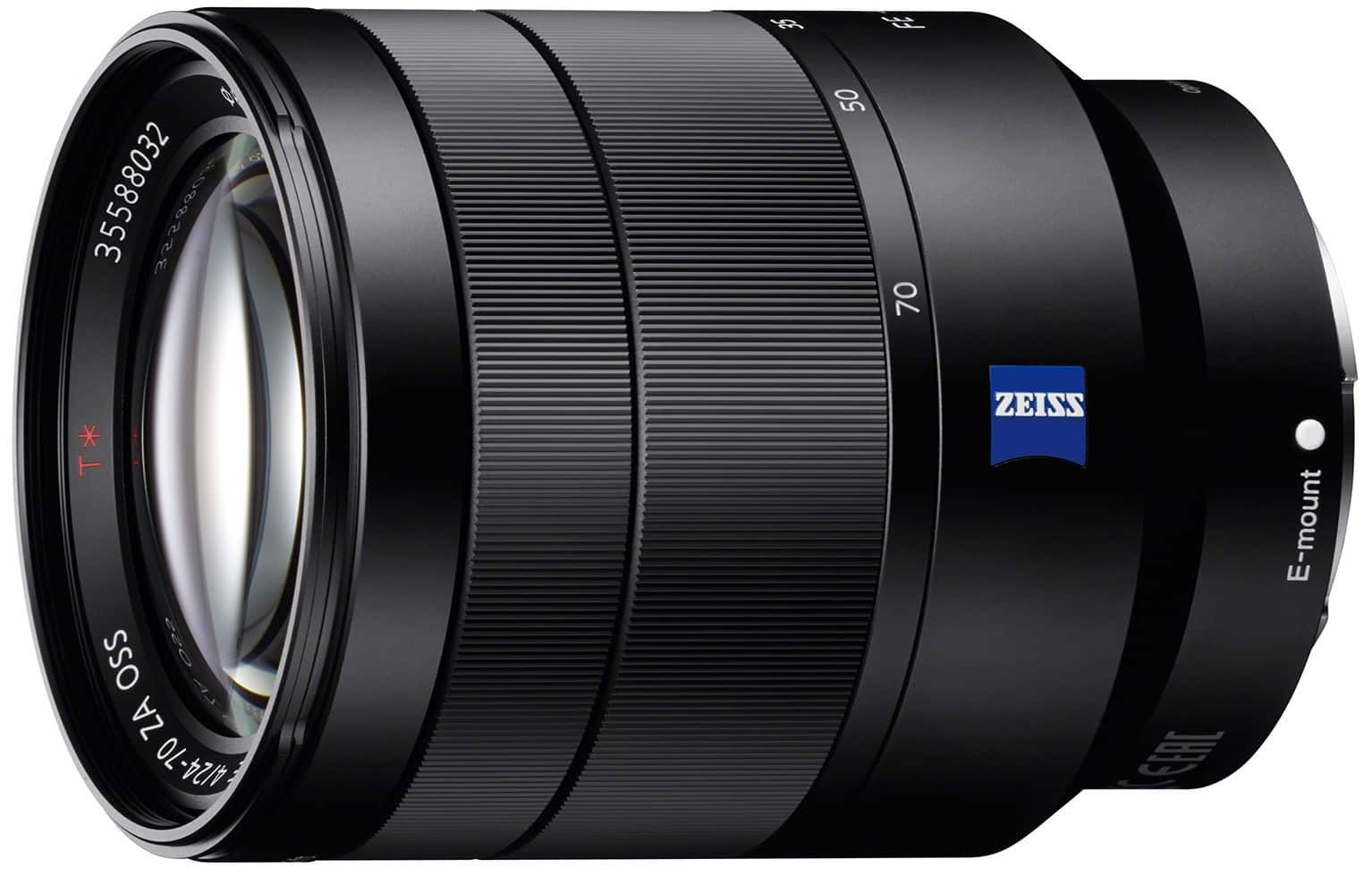 Sony Vario-Tessar T* FE 24-70mm F4 ZA OSS Camera Lens - NEW + Free Shipping $598