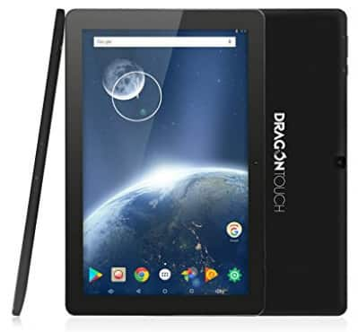 Dragon Touch X10 2017 Edition 10 inch Quad Core 64 bits Android Tablet $93.49