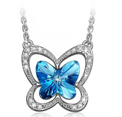 $10.57 for  Necklace Made with SWAROVSKI Crystals @amazon