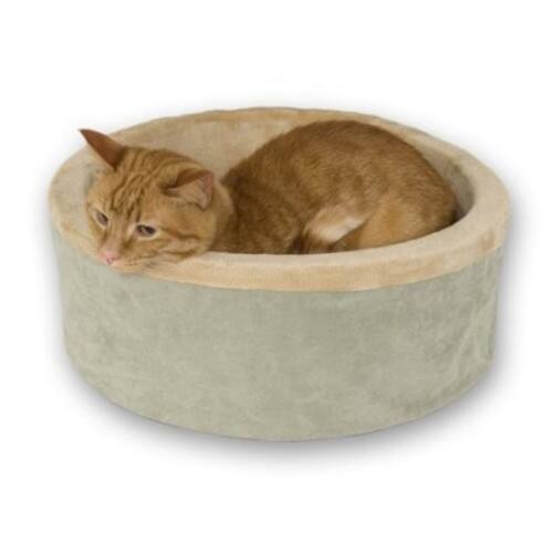 K&H Manufacturing KH319 ThermoKitty Sage Bed 16-Inch,Standard Packaging $27.15 + free shipping