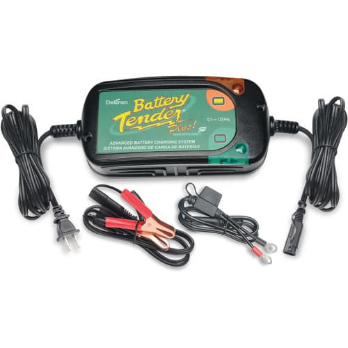 Battery Tender 022-0185G-dl-wh Black 12 Volt 1.25 Amp Plus Battery Charger/Maintainer [Energy Compliant]$48.05+free shipping