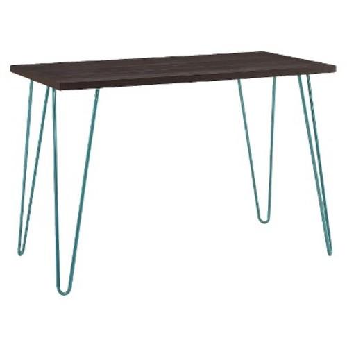 Altra Owen Retro Desk, Espresso/Teal [Espresso] $55.99 +free Shipping