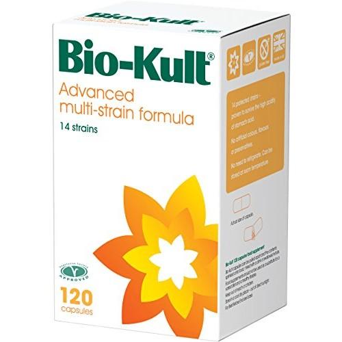 Bio-Kult Advanced Probiotic Multi-Strain Formula Capsules, 120 Capsules [120 Capsules] $37.84 + free shipping