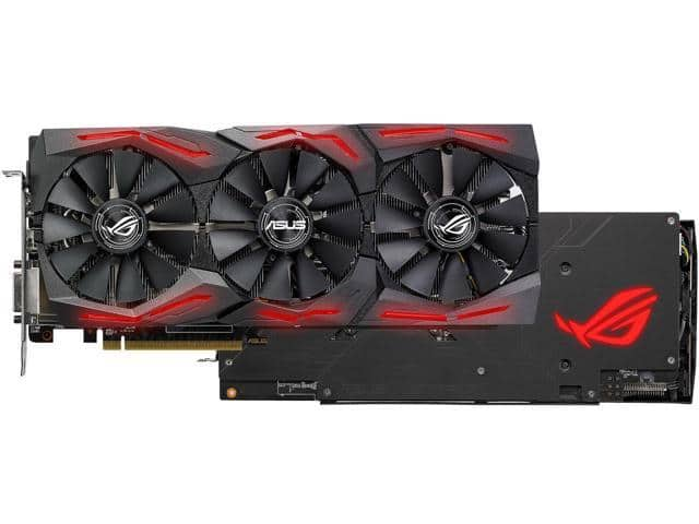 ASUS ROG Strix Radeon RX 580 8GB OC Edition Graphics Card $190 after MIR