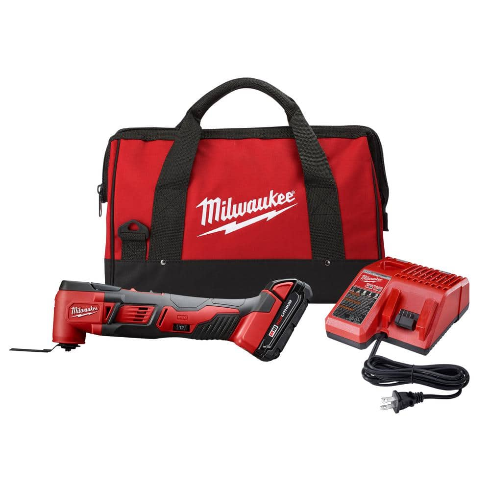Milwaukee M18 18-Volt Lithium-Ion Cordless Oscillating Multi-Tool Kit with one 1.5 Ah Battery and Charger $99