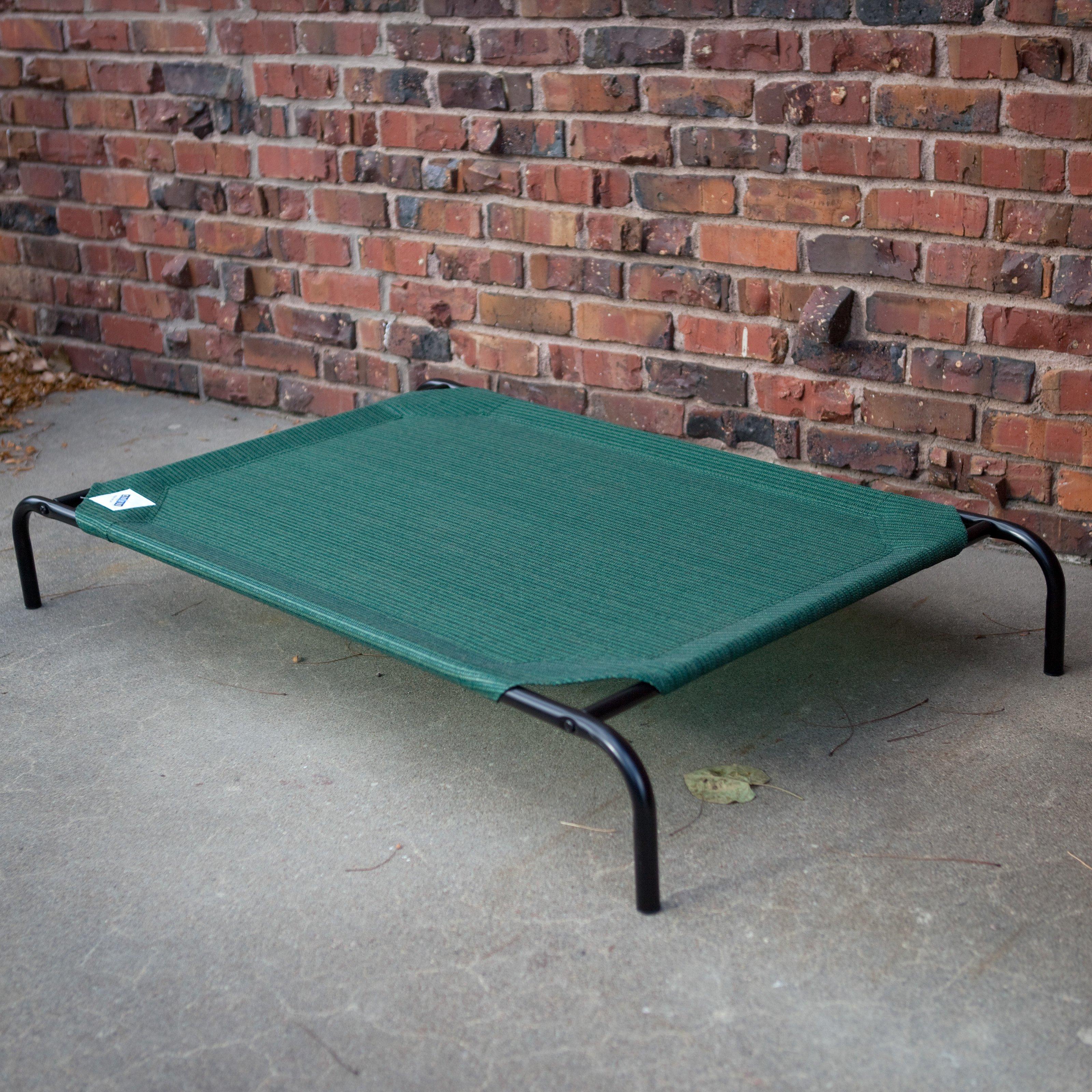 Coolaroo Elevated Pet Bed - Medium - Brunswick Green @ Amazon $13.99