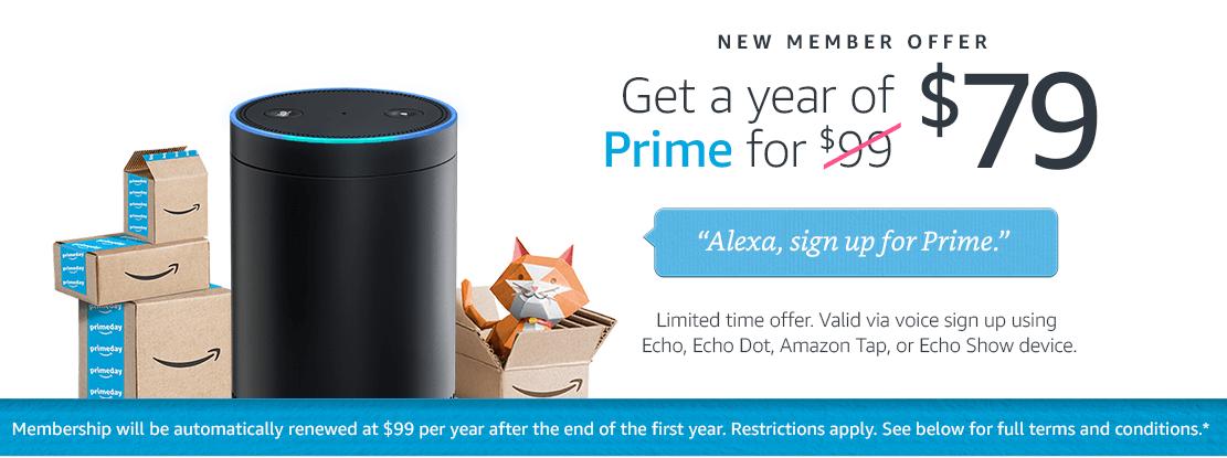 do you need amazon prime to use alexa