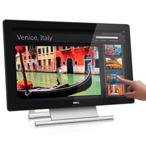 """Dell 23"""" TOUCHSCREEN IPS LED P2314T 10 point touch monitor for $400.99 plus $245 in gift cards (Ends 9/15) USB 3.0 HDMI / MHL"""