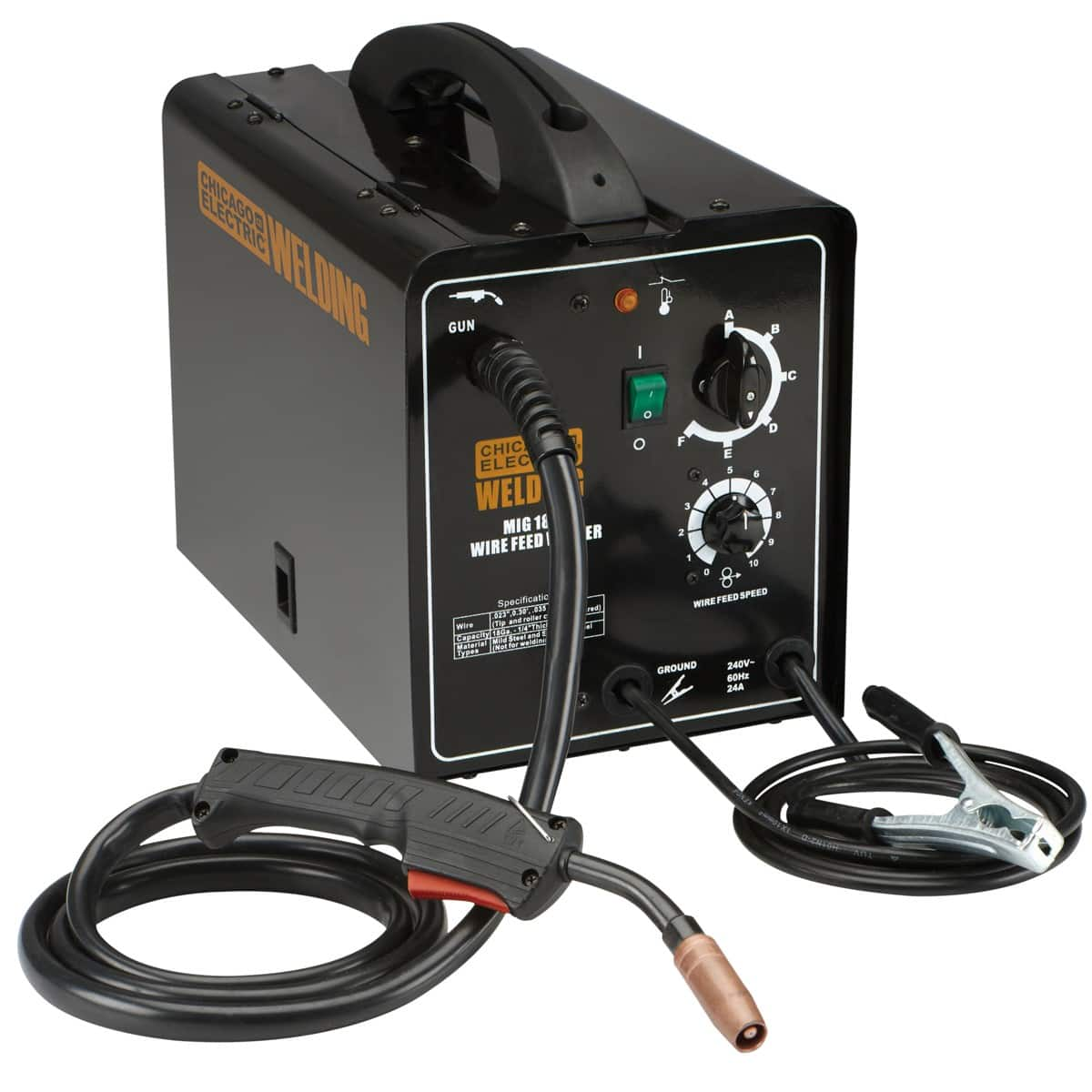 Harbor Freight 180 Amp-DC, 240 Volt, MIG/Flux Cored Welder $249 on sale for $174.98 in store or shipping $6.99 ends Tonight!