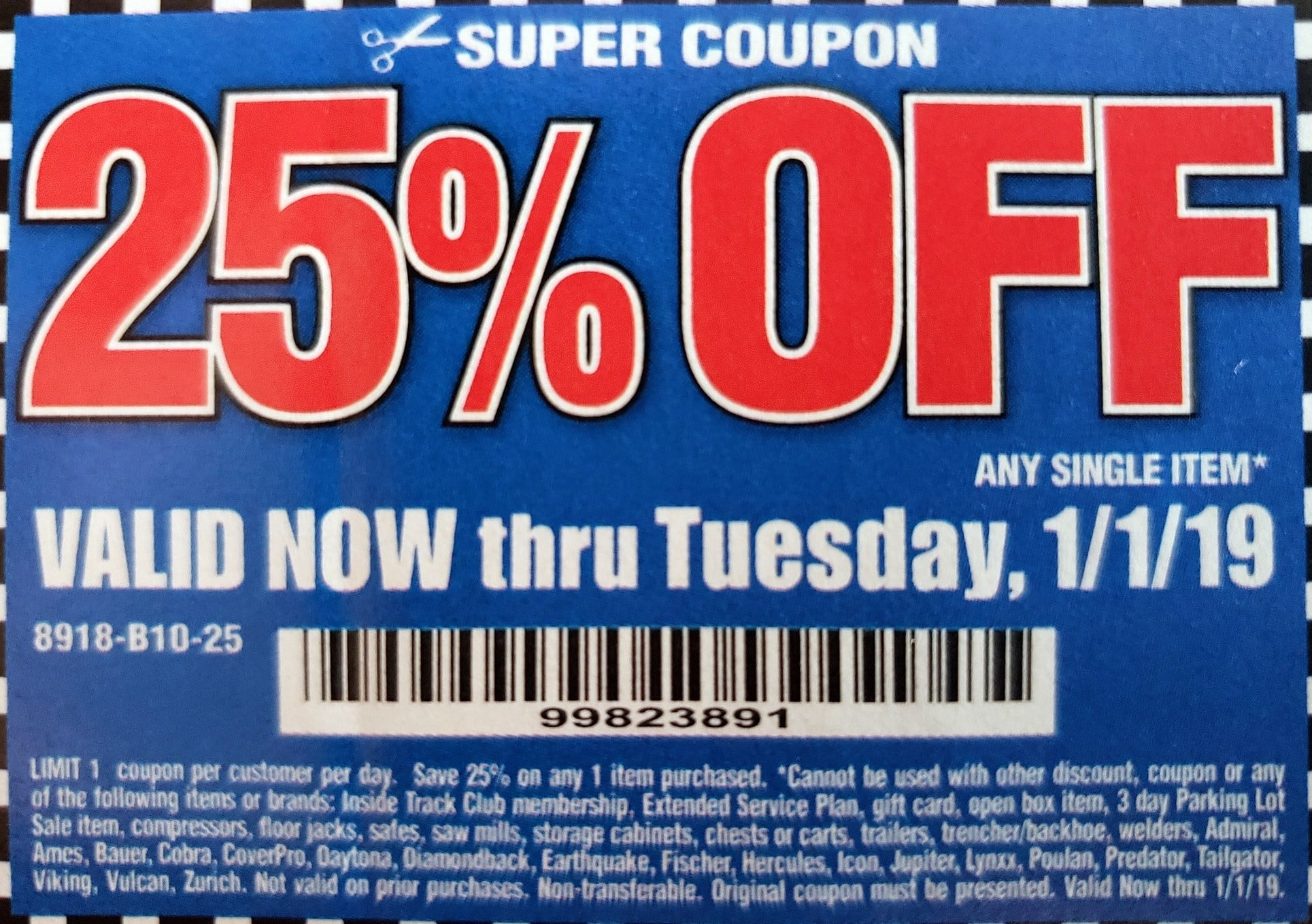 Harbor Freight Coupon Thread Page 808 Slickdeals Net