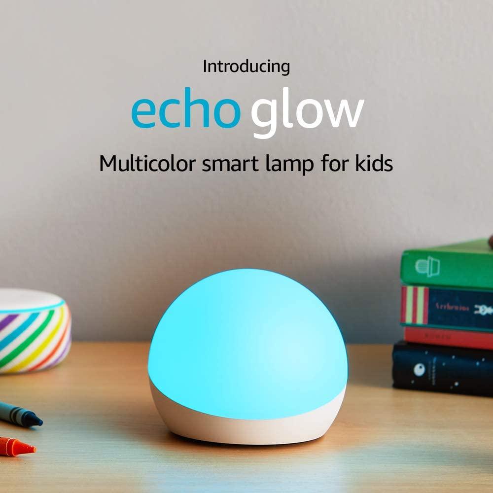 Amazon Echo Glow - Multicolor smart lamp for kids $4.99 - YMMV
