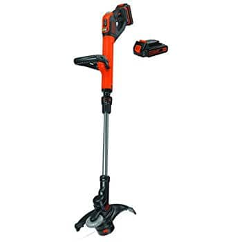 [Factory Reconditioned] Black + Decker LSTE525R 20V MAX Lithium EASYFEED 2-Speed 12 in. String Trimmer/Edger Kit w/2 batteries $49.99