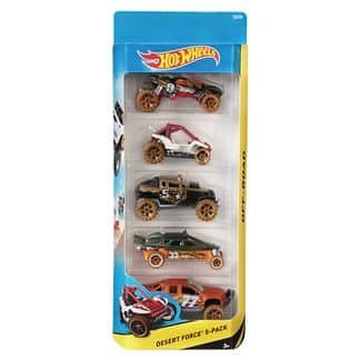 Target - Free Diecast 5 car pack with Select Hot Wheels purchase. Starting at $7.99