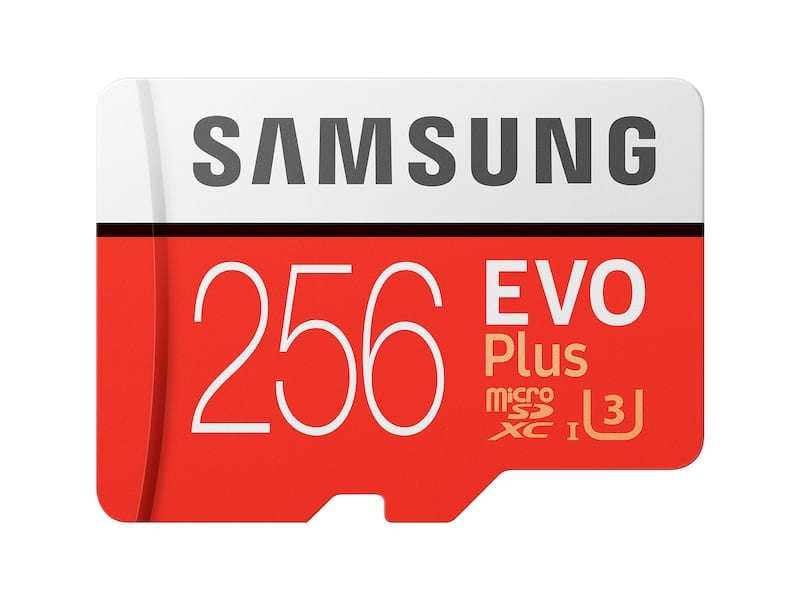 Samsung Evo Plus 256GB microSD $35.14 for students with free shipping at Samsung.com through myUnidays