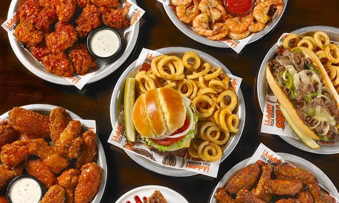 Hooters Voucher: To Go Mobile App Orders $30+ and get $15 Off