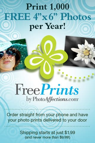 freeprints app up to 85 free 4x6 photo prints a month no more
