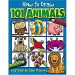 How to Draw 101 Animals (Book for Kids. Paperback) $2.89 @ Amazon