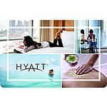$200 Hyatt Hotels Gift Card For $175  (eBay Daily Deal)