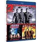 Blu-ray Double Feature: Stealth / Vertical Limit. $2.96 + Free shipping (Amazon or pick up at Walmart)