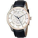 "Gevril Men's 2003 ""Columbus Circle"" Stainless Steel and Gold-Plated Automatic Watch with Blue Leather Band. $517 + Free shipping @ amazon"