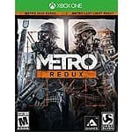 Metro Redux - Xbox One $14.99 + Free shipping (Amazon)