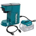 Makita 18V LXT Lithium-Ion Cordless Coffee Maker. $44.99 + Free shipping (eBay Daily Deal)