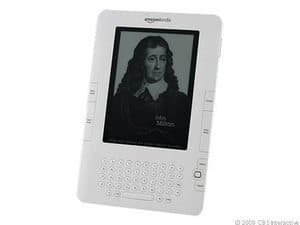 Amazon Kindle DX 4GB, 3G (Unlocked), 9.7in - White (Refurbished) $139.99 + Free shipping via eBay Daily Deals