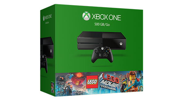 Xbox One The LEGO Movie Videogame Bundle OR Xbox One Gears of War: Ultimate Edition Bundle + Free Game + Free $60 Gift Code $299 + FS + Up to 50% Off Select Games  @ Microsoft