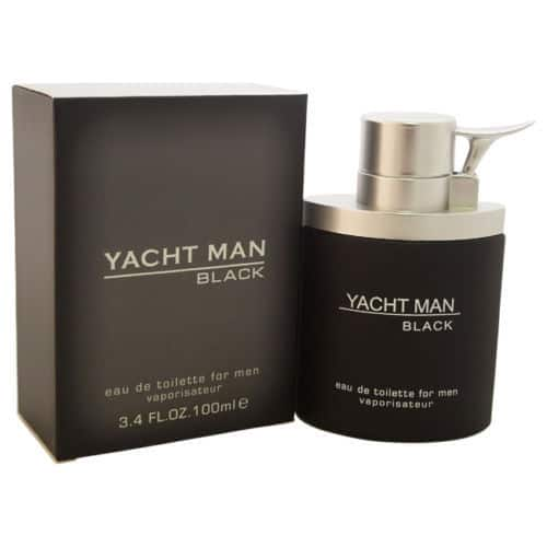 Yacht Man Black by Myrurgla 3.4 oz EDT Cologne for Men  $6.00 + Free Shipping (eBay Daily Deal)