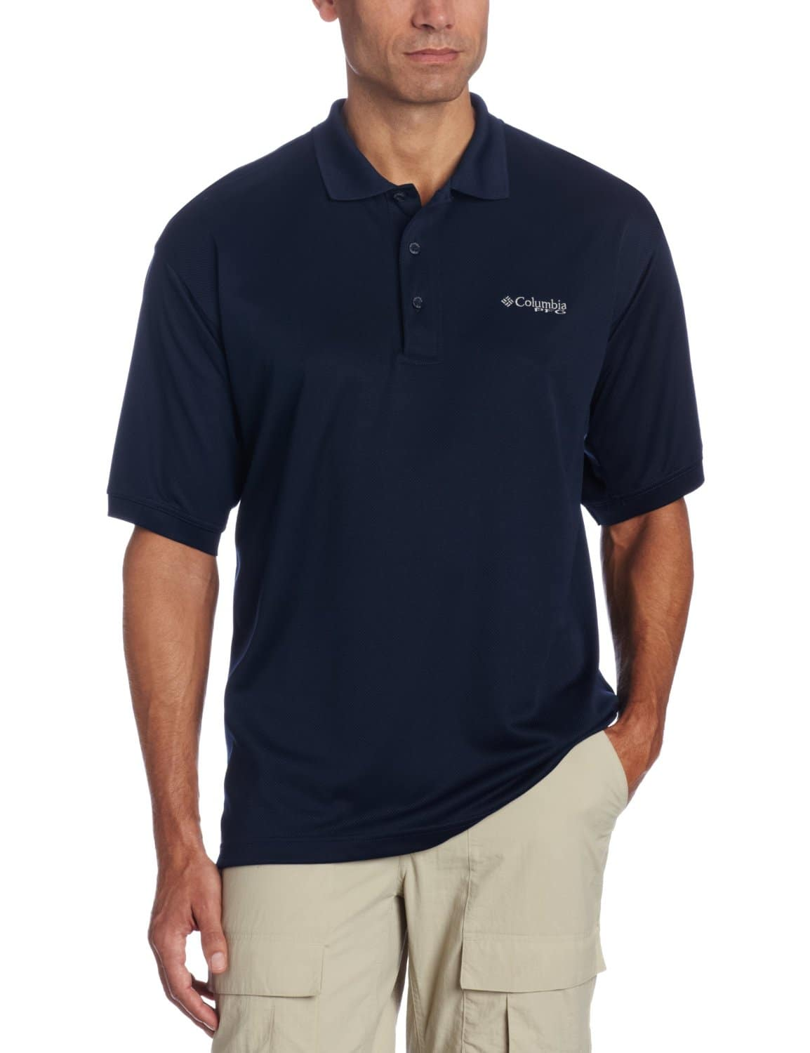Columbia Men's Perfect Cast Polo (Sizes S, M, L, XL, XXL) $9.50 + Free Shipping from Amazon