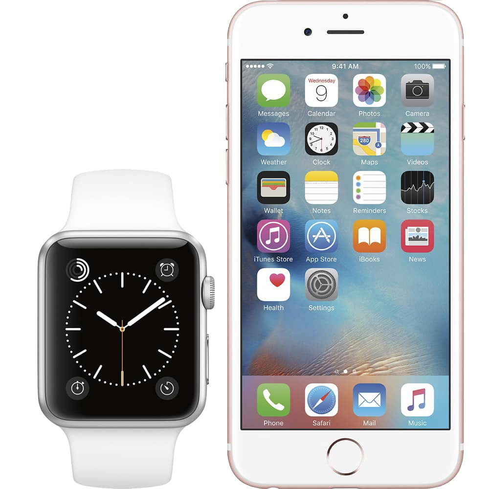 Apple Watch From $49 With iPhone 6S or iPhone 6S Plus Lease or Purhcase  for AT&T, Verizon or Sprint @ Best Buy