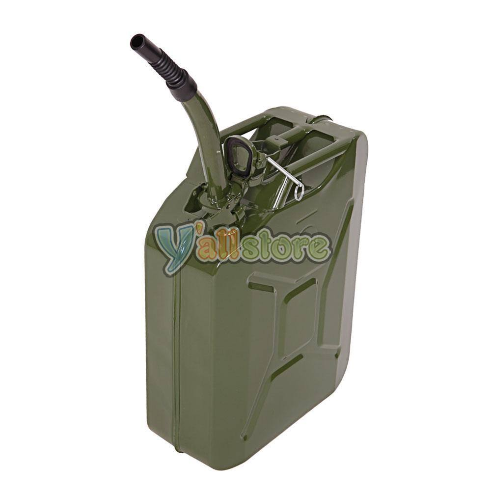 5 Gal (20L) Green Steel Military Gasoline Gas Fuel Tank (Jerry Can). $20 + Free Shipping (eBay Daily Deal)