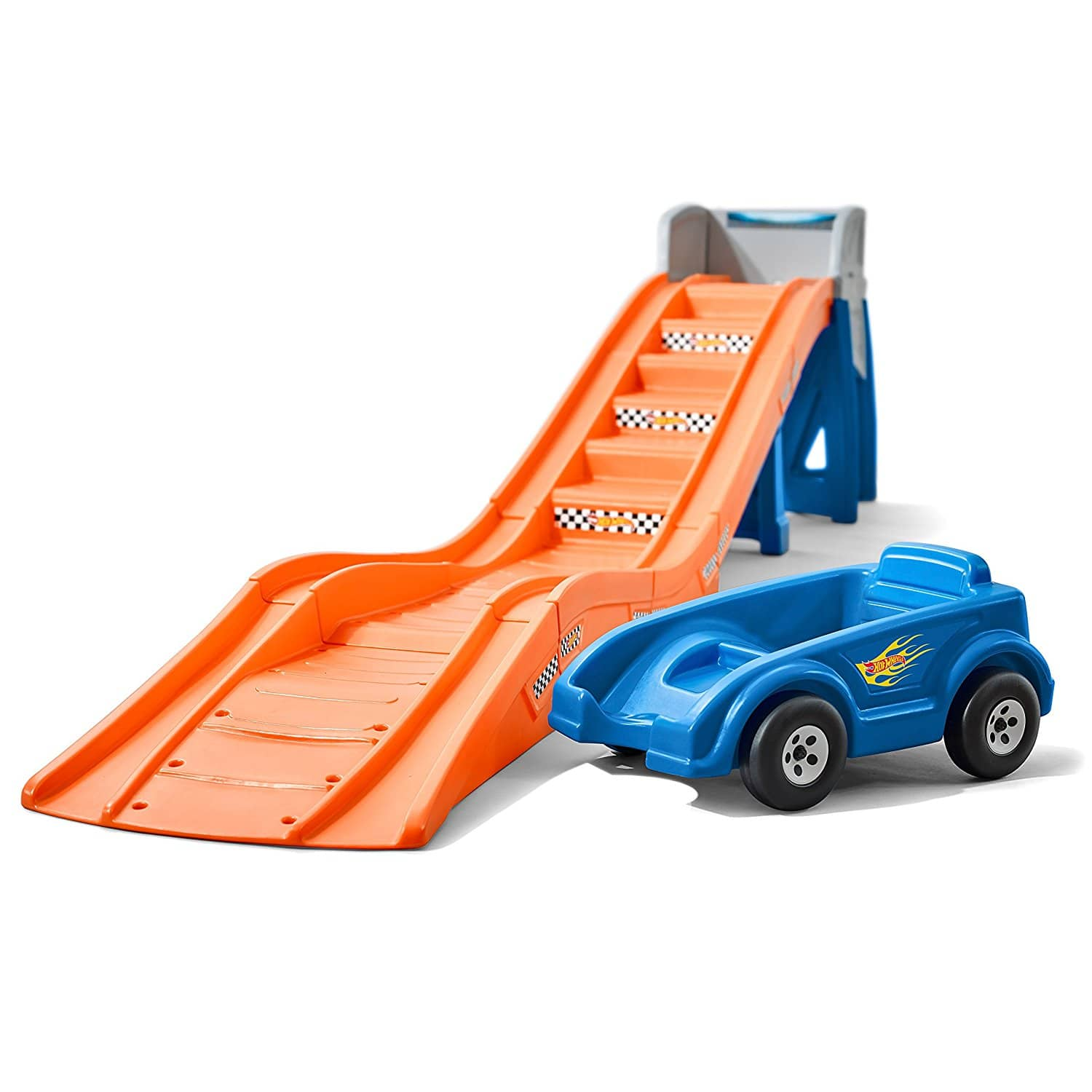 "Step2 Hot Wheels Extreme Thrill Ride On Coaster with 14 feet of Easy-Step Track and a 30"" High Platform. $190.47 (Pick up @ Walmart)"