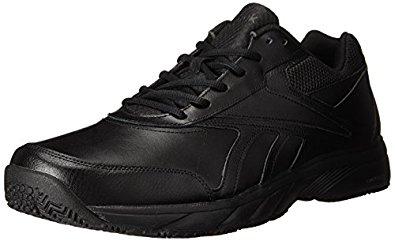 Reebok Men's Work N Cushion 2.0 Walking Shoe (Various Sizes, Black Color) $29.90 + FS  w/Prime