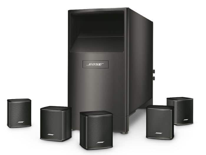 Bose Acoustimass 6 Series V Home Theater Speaker System Factory
