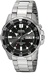Casio Men's Super Illuminator Diver Quartz Watch $40.77 + FS