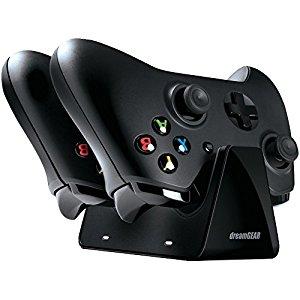 DREAMGEAR DGXB1-6611 Xbox One Dual Charge Station. $8.35 + FS w/Prime