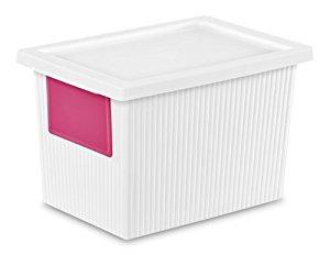 6-Pack Sterilite 14318006 5.4 Quart/5.1 Liter ID Box, White. $10.70 + FS w/Prime